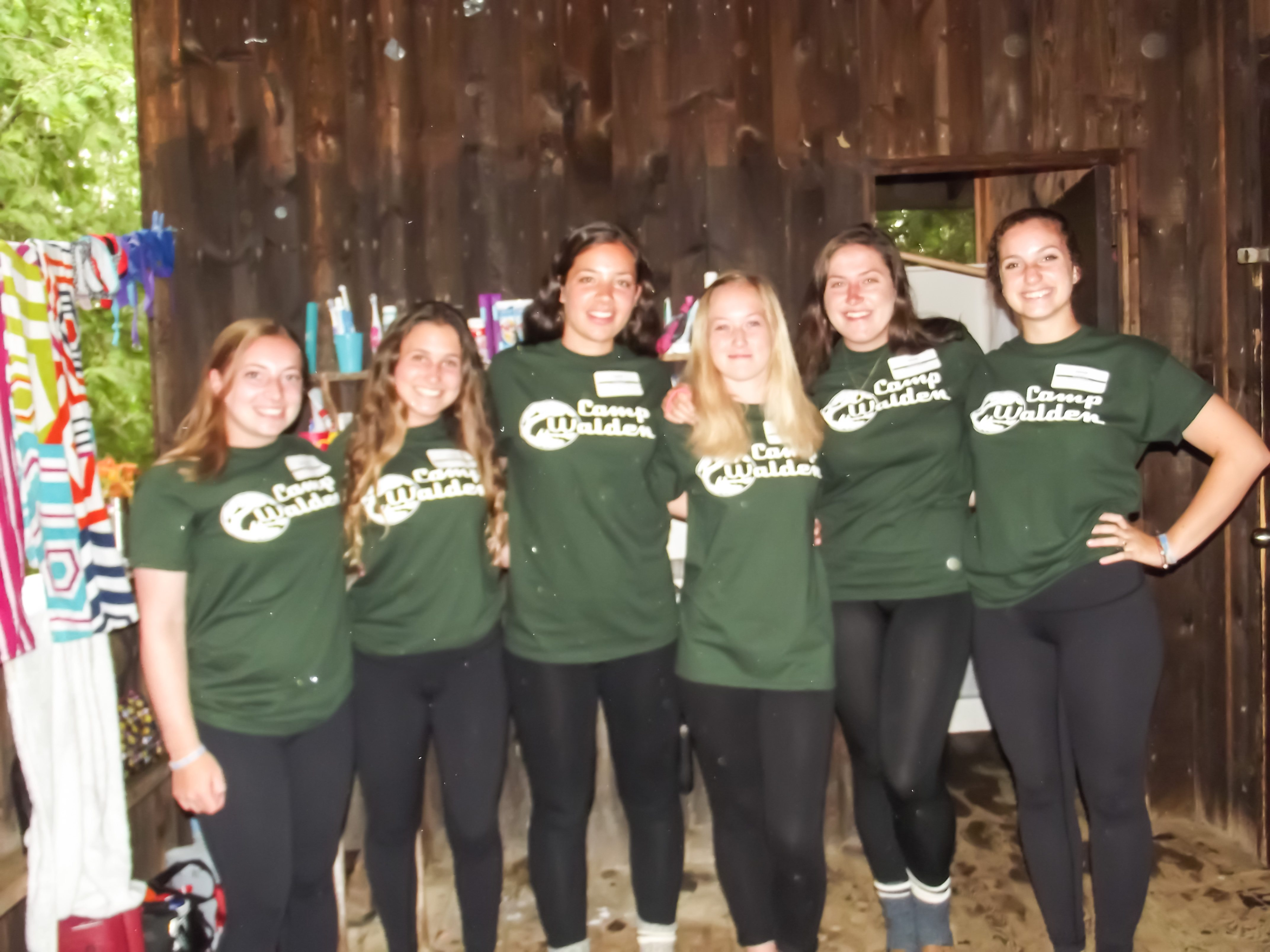 summer camp counsellors